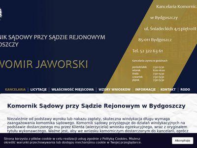 Sławomir Jaworski kancelaria komornicza