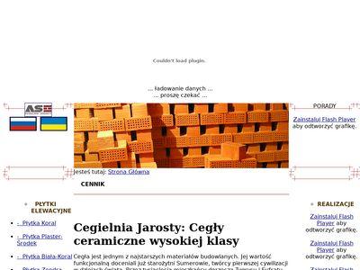 Jarosty.pl cegła gotycka producent