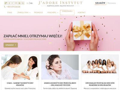Jadoreinstytut.com salon urody Kraków