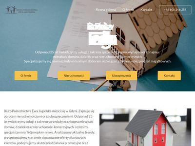 Jagielska.com.pl wynajem mieszkań Gdynia