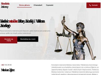 Barbara Jeziorska notariusz Łódź