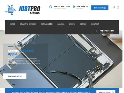 Justpro-serwis.pl serwis laptopów