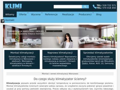 Klimi.com.pl klimatyzacja Warszawa