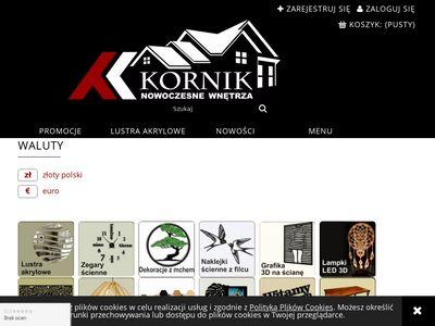 Kornikdesign.pl dizajnerskie