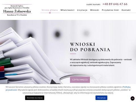 Komorniksadowyostroda.pl