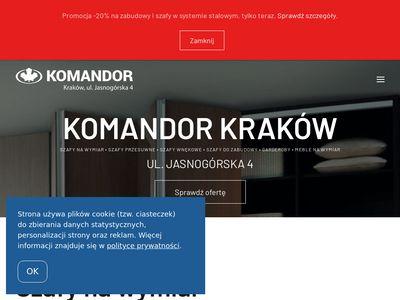 Komandor-krakow.com.pl szafy