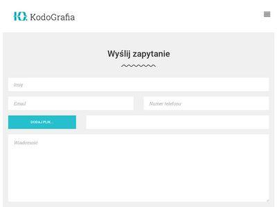 Kodografia.pl - wdrożenie wordpress
