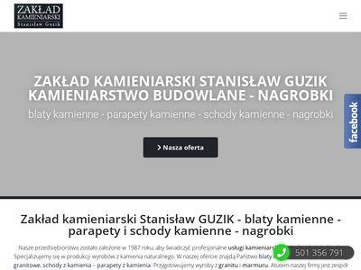 Zakład kamieniarski S.Guzik Kraków