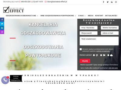 Kancelaria Effect obsługa prawna firm