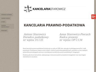 Kancelariastarowicz.pl