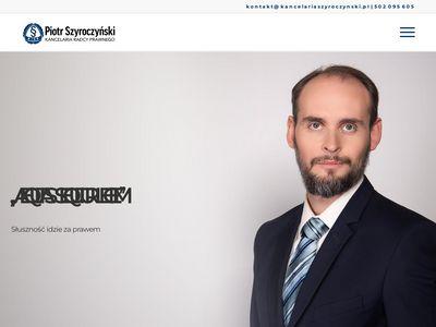 Kancelariaszyroczynski.pl - błędy medyczne