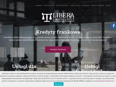 Kancelarialibera.pl słup na działce