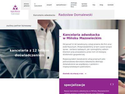 Kancelariaminsk.pl
