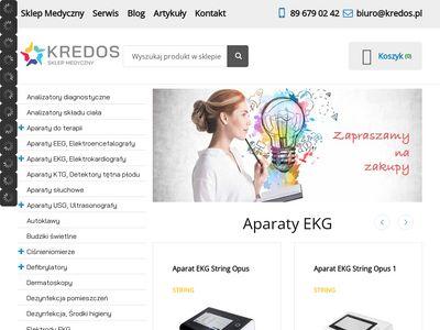 Kredos.pl aparaty ekg