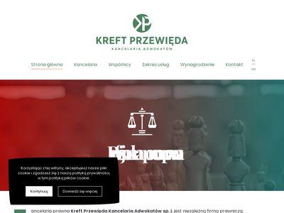 Kreftprzewieda.pl prawnik Gdynia