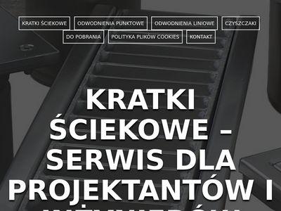 Kratki-sciekowe.com.pl dla projektantów