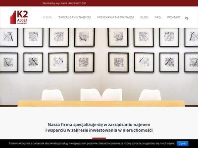 K2assetmanagement.pl zarządzanie najmem