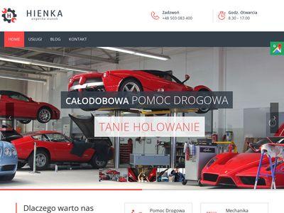 Hienka holowanie 24h Kraków