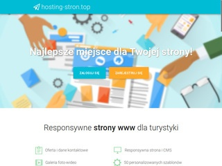 Hosting-stron.top kreator stron