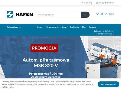 Hafen.pl profesjonalne tokarki do metalu