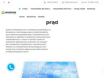 Inverter.com.pl energia odnawialna warszawa