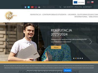 Ignatianum wydział pedagogiczny Kraków