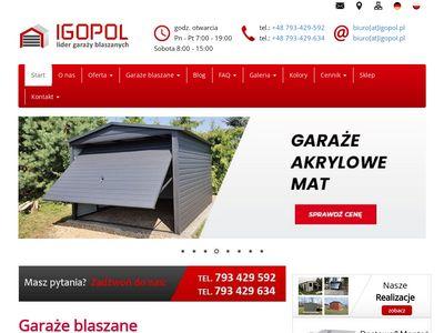 Igopol.pl - blaszaki