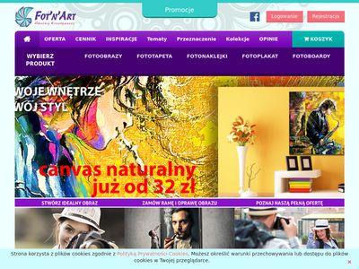 Fotnart.pl fotoobrazy, fototapety
