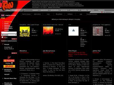 Fan.pl - sklep z płytami muzycznymi