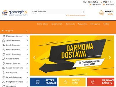 GlobalGift.pl - gadżety reklamowe dla firm