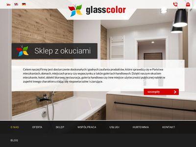 Glasscolor.pl - drzwi szklane Warszawa