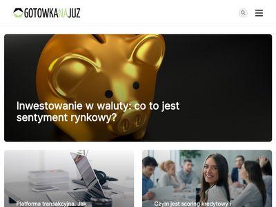 Gotowkanajuz.pl kredyt na konto