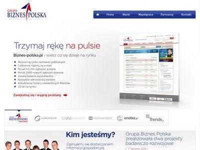 Grupa Biznes Polska zamówienia publiczne