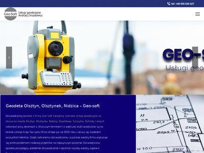 Geo-Soft - usługi geodezyjne