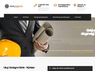 Geodeta-trojmiasto.pl - tyczenie