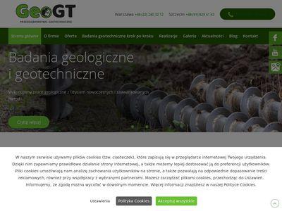 Geogt.pl badania geologiczne