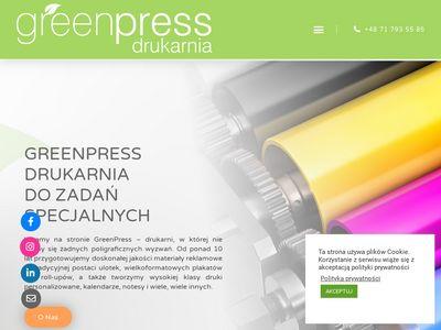 Greenpress.pl - drukarnia Wrocław