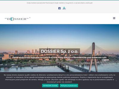 Dossier sprawozdanie finansowe Warszawa