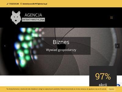 Detektyw-wilk.pl biuro detektywistyczne