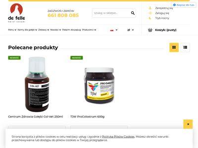 Defelle.pl sklep dla gołębi