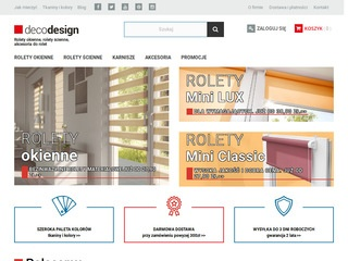Decodesign.com.pl rolety okienne