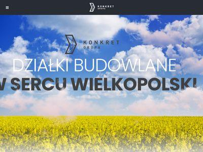 Dzialki-konkret.com budowlane