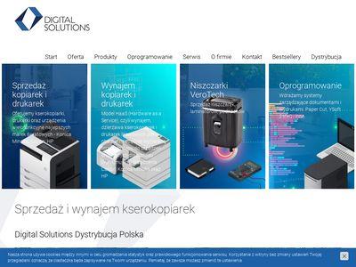 Dsd.com.pl serwis kopiarek Warszawa