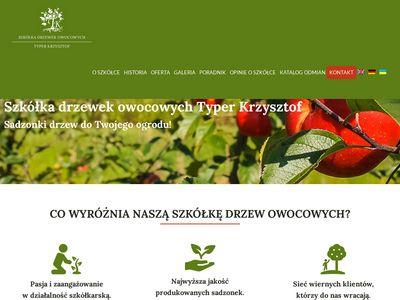 Drzewka-typer.pl szkółka drzewek