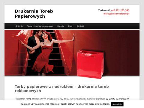 Drukarniatoreb.pl papierowych