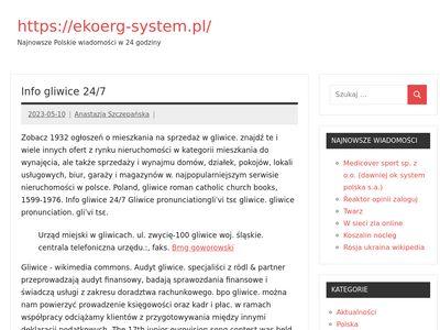 Ekoerg-system.pl utwardzenie podłoża