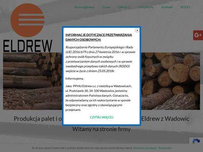 Eldrewpalety.pl produkcja opakowań