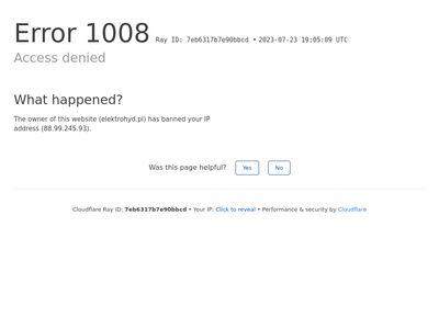 Elektrohyd.pl pompy do betonu sprzedaż