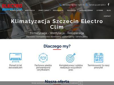 Electro-clim.com.pl klimatyzacja Szczecin
