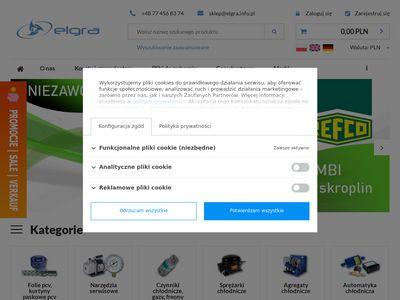 Elgracool.pl hurtownia chłodnicza